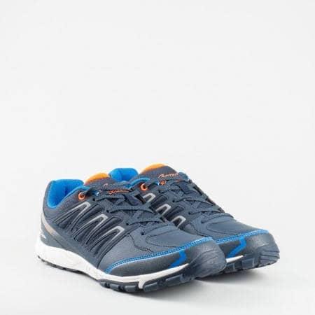 Комфортни и леки мъжки маратонки с  модерна визия 15004-45s
