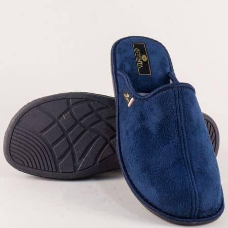Тъмно сини мъжки чехли за дома Spesita 17186s