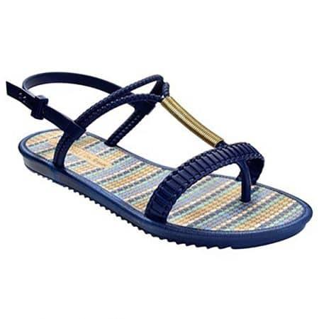 Дамски сандали в тъмно син цвят- GRENDHA 1723790556