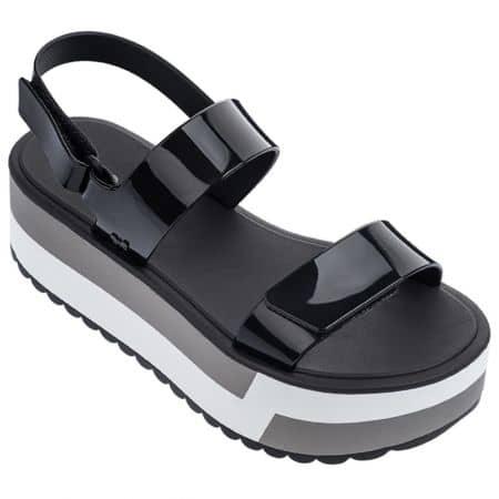 Дамски сандали на платфора в черен цвят- ZAXY 1752590058