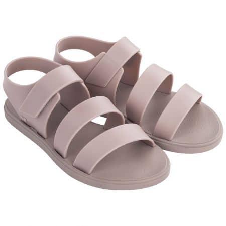 Дамски сандали в розов цвят с лепка- ZAXY 1754890059