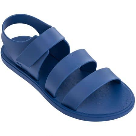 Дамски сандали с лепка в син цвят- ZAXY 1754890061