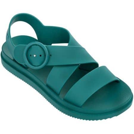 Зелени дамски сандали с катарама- ZAXY 1755590064
