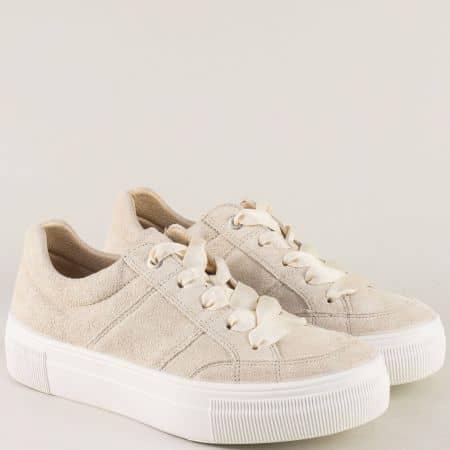 Немски обувки от естествен велур 200910vbj