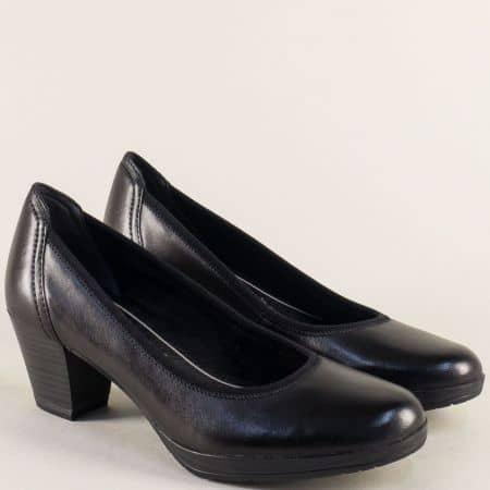 Черни дамски обувки на среден ток с Anti-shock система 2222418ch