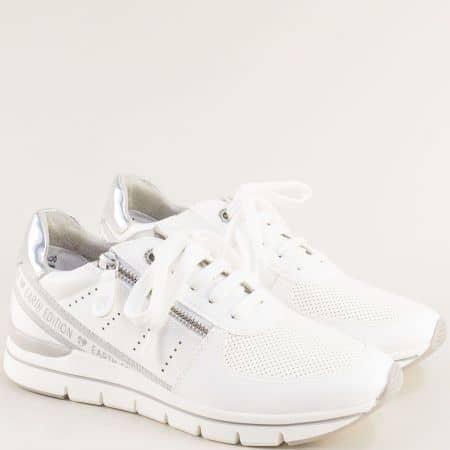 Маратонки в бяло от MARCO TOZZI колекция 100% VEGAN 223773b