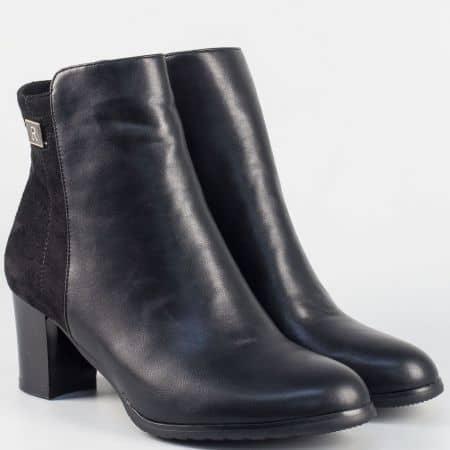 Елегантна дамска обувка на среден ток 2323037ch