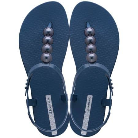 Дамски сандали с декорация в син цвят- IPANEMA 2620721253