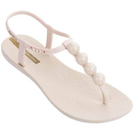 Дамски сандали с декорация- IPANEMA  в бежов цвят 2620724911