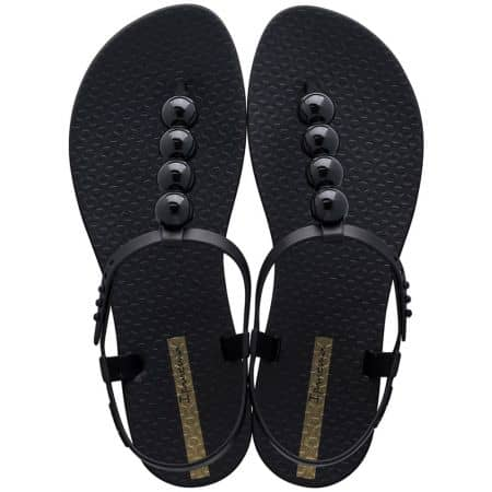 Дамски сандали в черен цвят с декорация- IPANEMA 2620724912