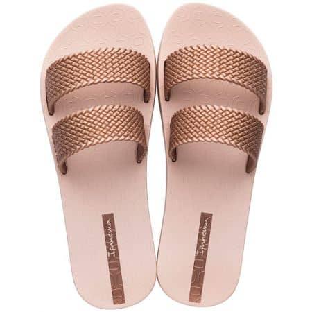 Бразилски дамски джапанки в розов цвят- IPANEMA 2622324185