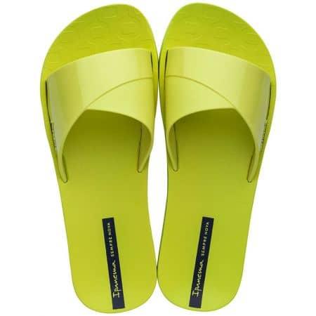 Жълти дамски джапанки на равно ходило- IPANEMA 2636624616