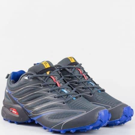 Дамски маратонки Knup в сив цвят 263913-40sv