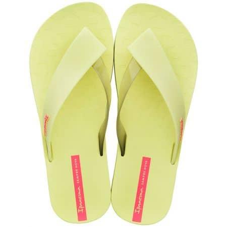 Дамски джапанки на равно ходило в жълто и розово- IPANEMA 2644524616