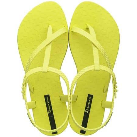 Жълти дамски сандали на равно ходило- IPANEMA 2645224616