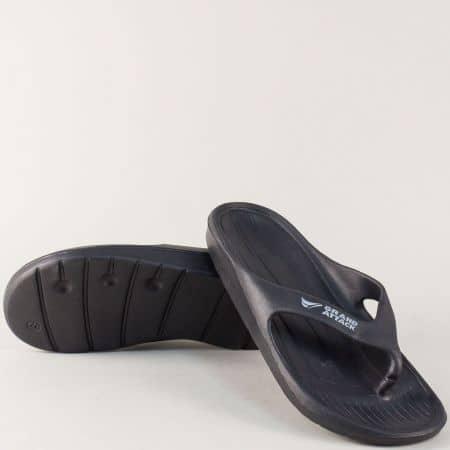 Мъжки джапанки в черен цвят- GRAND ATTACK 30122ch