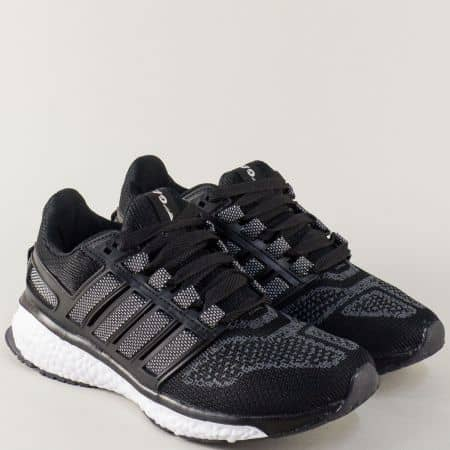 Дамски маратонки в черен цвят GRAND ATTACK на комфортно и леко ходило 30227-40ch