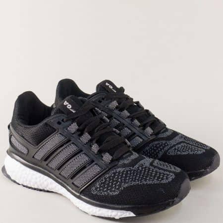 Мъжки маратонки GRAND ATTACK в черно 30228-45ch