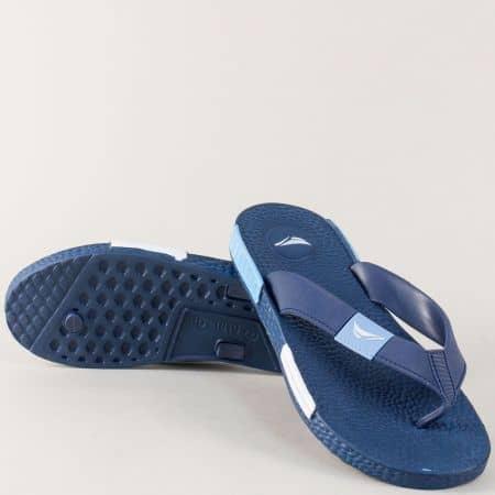 Мъжки джапанки GRAND ATTACK на удобно ходило в син цвят 30240s