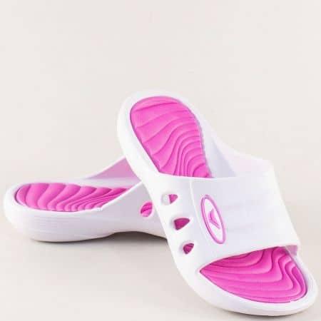 Детски джапанки в бяло и розово- GRAND ATTACK 30433-35rz