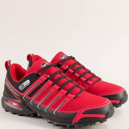 Мъжки маратонки в червен цвят- Grand Attack  30597-45chv