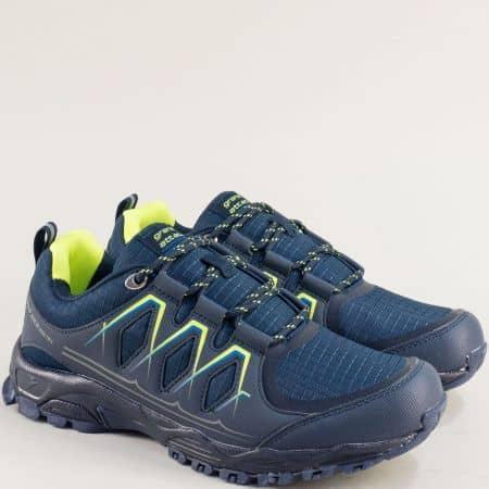 Мъжки маратонки в тъмно син цвят- Grand Attack  30610-45s