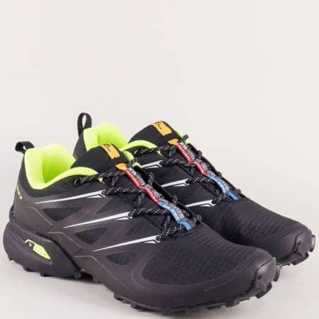 Черни мъжки маратонки на марка Knup 3481-45chz