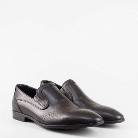 Официални мъжки обувки без връзки 4011ch
