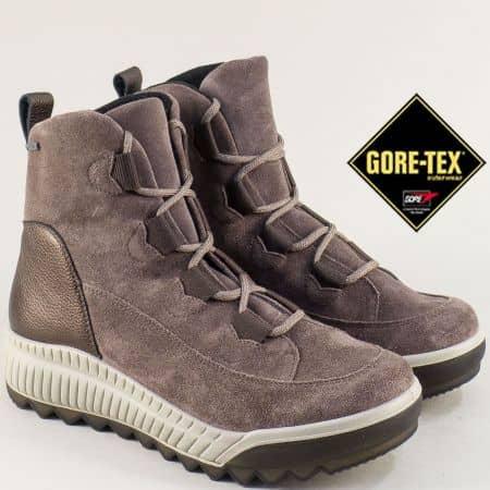 Сиви дамски боти с Gore-Tex мембрана- LEGERO 509561vk