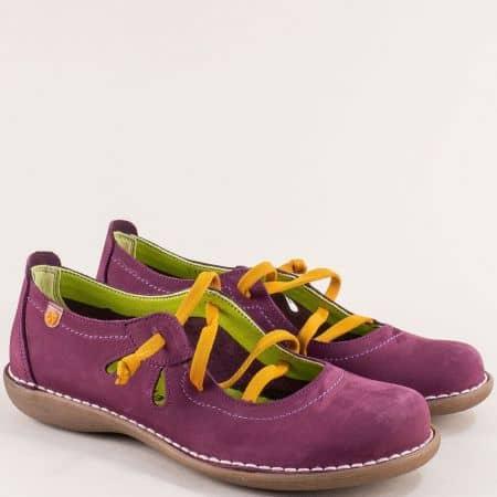 Лиливи дамски обувки с ластик на шито, каучуково ходило 5120nl