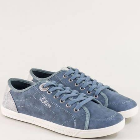 Дамски сини кецове на марка s.Oliver  523631s