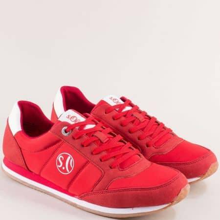 Червени дамски маратонки с Memory пяна- S.OLIVER 523680chv