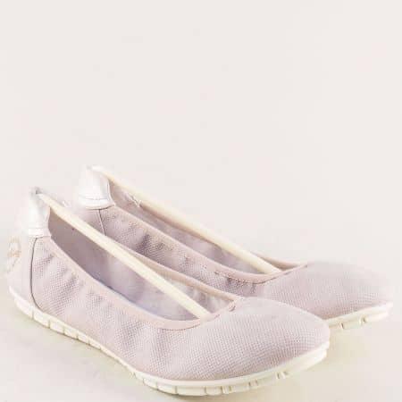 Дамски обувки, тип балерини в розов цвят- S. Oliver  5522119rz