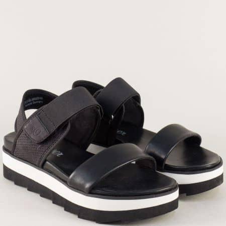 Немски сандали на платформа в черен цвят 5528202ch