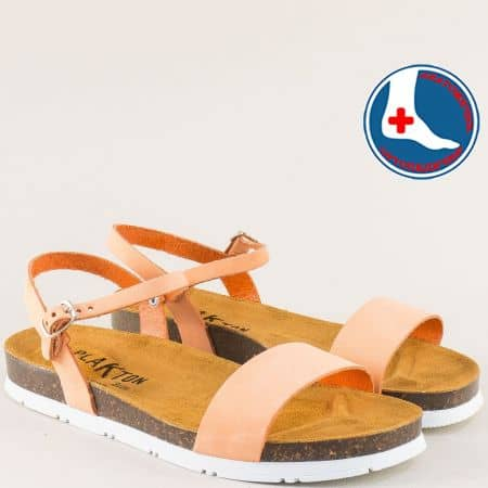 Испански дамски сандали на анатомично ходило от естествена кожа 565520no