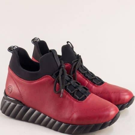 Дамски спортни обувки в цвят бордо 5977bd