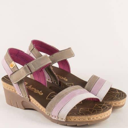 Ортопедични дамски сандали на испанската марка Jungla 6883nps