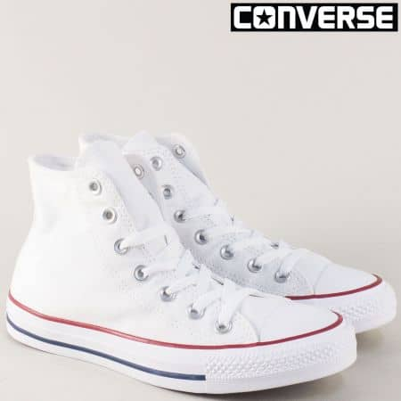 Бели мъжки кецове- CONVERSE Chuck Taylor All- Star 7650-45b