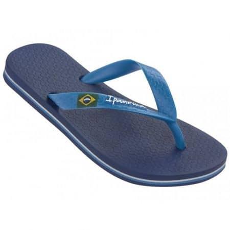 Сини мъжки джапанки между пръстите- Ipanema 8041522117