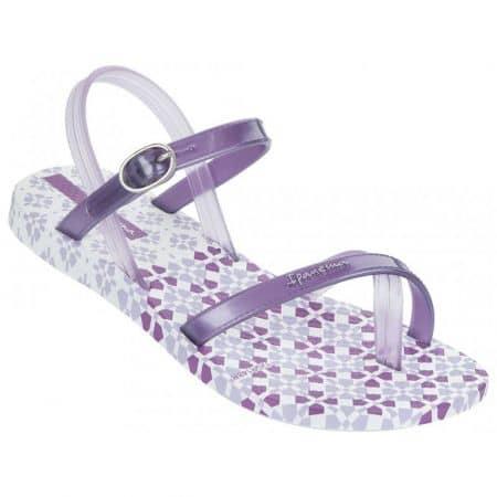 Атрактивни бразилски детски сандали Ipanema в лилав цвят 81493216830