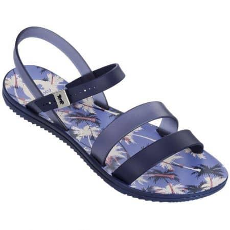Сини дамски сандали Grendha на комфортно ходило 8206190036