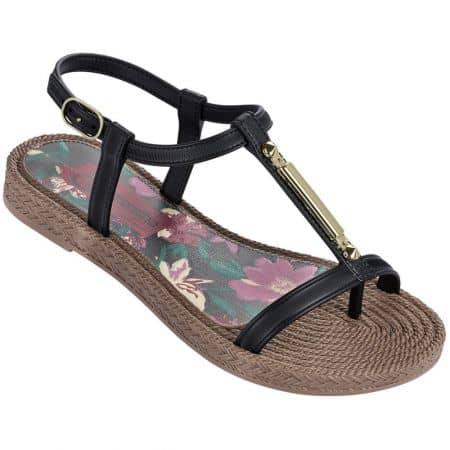 Дамски сандали в черен цвят- GRENDHA 8215890168