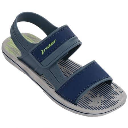 Мъжки сандали в син цвят с велкро лента- RIDER 8219621929