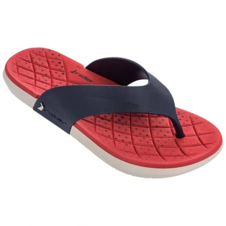 Мъжки джапанки в червено и тъмно синьо- RIDER 8220823427