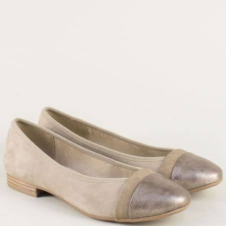 Кафяви дамски обувки на олекотено ходило- Jana 82216520vk