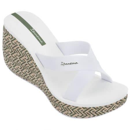 Бели дамски джапанки на платформа- IPANEMA 8228821552