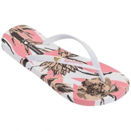 Дамски джапанки в розово и бяло- IPANEMA 8236620700