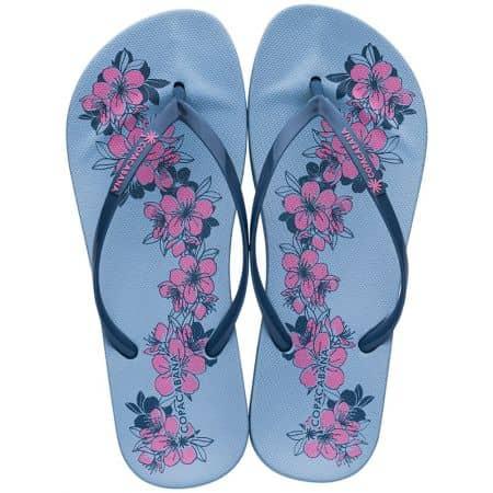 Дамски джапанки в синьо и розово- COPACABANA 8239320729