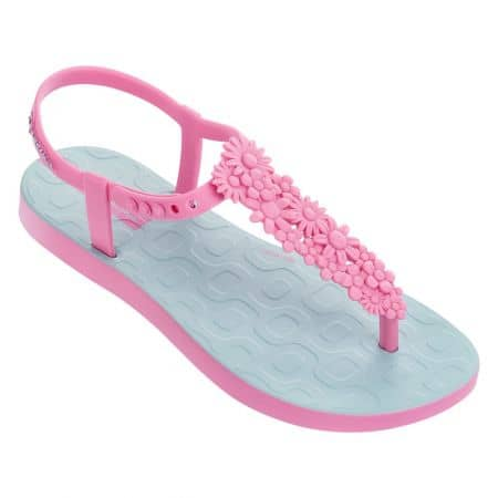 Дамски сандали в светло синьо и розово- IPANEMA 8240120735