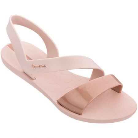 Дамски сандали на равно ходило- IPANEMA в розов цвят 8242924708
